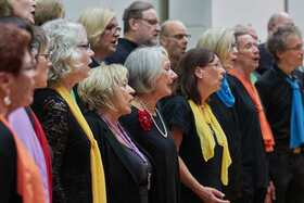 Bild: Sing ´n´ Swing - Rainbow-Chor Speyer und Swing Band Harthausen