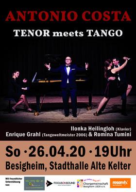 Bild: Antonio Costa - Tenor meets Tango - Eine Sternstunde des Tangos