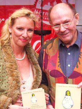 Bild: Culinarcabaret - Wilhelm Busch aff fränggisch - Die Butterhenne und der Bürgermeister