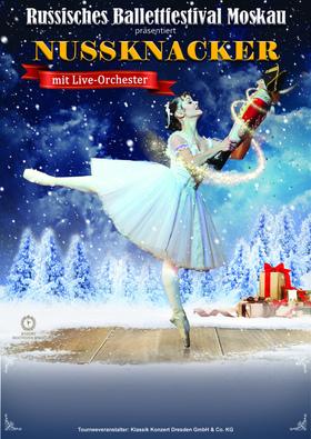 Bild: Nussknacker mit Orchester - Russisches Ballettfestival Moskau