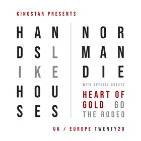 HANDS LIKE HOUSES / NORMANDIE - Live in Wiesbaden