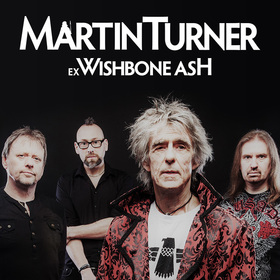 Martin Turner Ex Wishbone Ash - Wishbone Gold – 50th Anniversary Tour 2020