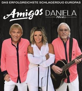 Bild: Amigos & Stargast Daniela Alfinito - Für unsere Freunde Tour 2021