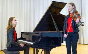 Bild: Violin-/Klavierabend Samira Spiegel - Werke von LISZT - BACH - BARTÓK - YASŸE