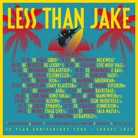 LESS THAN JAKE - Support: Tequila & The Sunrise Gang