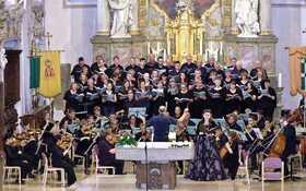 Bild: Kirchenkonzert - Die Veranstaltung wurde abgesagt - Unter der Leitung von KMD Volker Linz