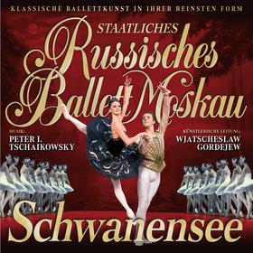 Staatliches Russisches Ballett Moskau - tanzt Schwanensee