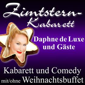 ZIMTSTERN-KABARETT 2020 - mit: Daphne de Luxe, Mia Pittroff, Volker Diefes, Andrea Volk