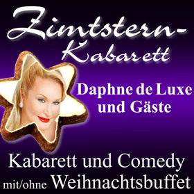 ZIMTSTERN-KABARETT 2020 - mit: Daphne de Luxe, Liza Kos, Niko Formanek, Pascal Franke