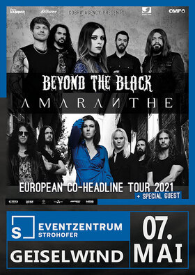 Bild: BEYOND THE BLACK & AMARANTHE - BEYOND THE BLACK & AMARANTHE - Co-Headline Tour 2021