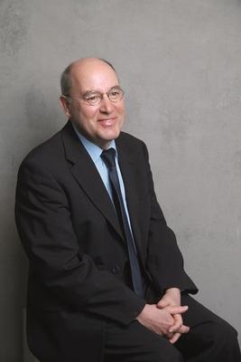 Bild: Gregor Gysi & Journalist Hans-Dieter Schütt -