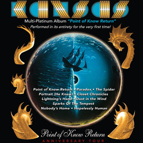 "Kansas - The ""Point of Know Return""-Anniversary Tour 2022"
