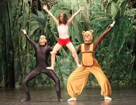 Bild: Das Dschungelbuch - eine Ballettaufführung der Ballettschule Olga Kochanke