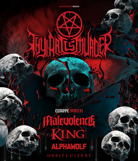 Bild: Thy Art Is Murder, Dying Fetus, Chelsea Grim - Human Target Tour Europe Summer 2020