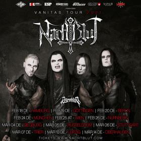 Bild: NACHTBLUT + Support: Asenblut - Vanitas Tour 2020