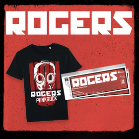 ROGERS - Shirt Bundle - Live in Rostock