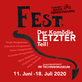 Bild: Fest 2. Der Komödie LETZTER Teil - Sommertheater im Technikmuseum