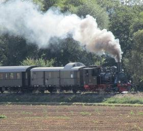 Bild: Dampfzug-Gutschein 2 Erwachsene und 1 Kind - Hin und Rückfahrt inkl.Dampfzuschlag