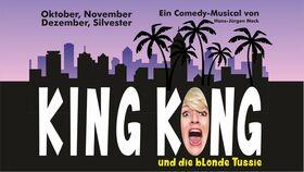 Bild: King Kong und die blonde Tussie - Die Anzahl der Plätze ist auf ca. 100 reduziert!