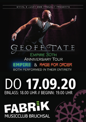Bild: Geoff Tate - EMPIRE 30th Anniversary Tour