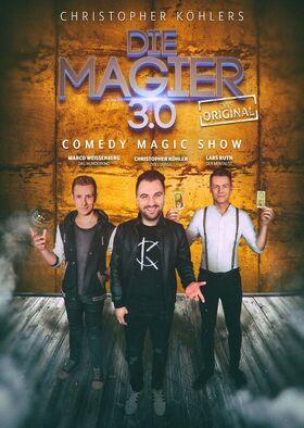 Bild: Die Magier 3.0 - Comedy Magic Show - mit Christopher Köhler, Marco Weissenberg & Lars Ruth