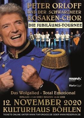 Peter Orloff & Der Schwarzmeer Kosaken-Chor - Das Wolgalied - Total emotional!