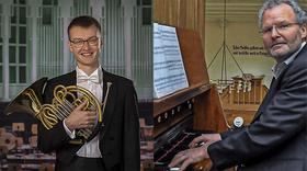 """Musik für Horn, Alphorn und Orgel - """"...grüß ich Dich, viel tausendmal"""""""