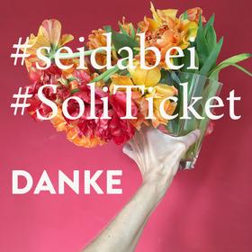 Bild: #seidabei - #SoliTicket für das Literaturhaus München