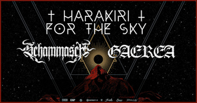 Bild: HARAKIRI FOR THE SKY - Tour 2021