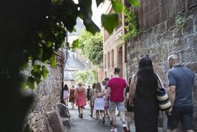 """Führung in Marburg - Altstadt - Die """"Oberstadt"""" - ein Eintauchen in ein lebendig gewordenes Geschichtsbuch"""