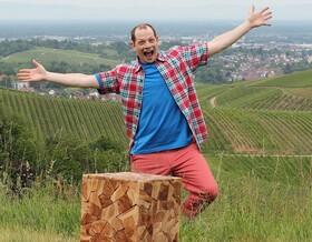 Bild: Der Boss von Moritz Netenjakob - Open Air Tournee durch die Ortenau im Rahmen von Kultur Sommer 2020 Innovationsfonds Kunst BW