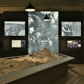 Eintrittskarte Ausstellung »Mythos Germania« - Mythos Germania – Vision und Verbrechen
