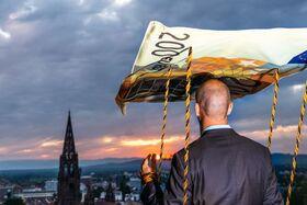 """Bild: 45. Rathaushofspiele """"Freiburger Jedermann"""""""