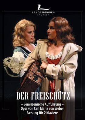 Bild: Der Freischütz - Oper von Carl Maria von Weber - als semi-szenische Aufführung