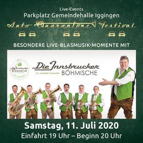 Bild: Innsbrucker Böhmische - Besondere Live-Blasmusik-Momente im Autokino - Ein Muss und Genuss für alle Blasmusik-Fans und solche die es noch werden wollen...