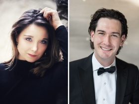 Bild: Preisträgerkonzert Sara Gouzy, Daniel Nicholson - 30. Internationaler Gesangswettbewerb der Kammeroper Schloss Rheinsberg