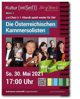 Die Österreichischen Kammersolisten - Leitung/Violine: Lui Chan