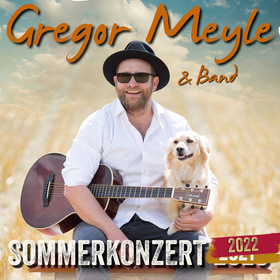 Bild: Gregor Meyle & Band - Die Sommerkonzerte 2021
