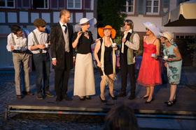 Bild: Zimmertheater Rottweil: Fünf Frauen im Netz