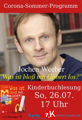 »Was ist bloß mit Gisbert los?« - Musikalische Kinderbuchlesung mit Jochen Weeber, für Kinder ab 4 J.