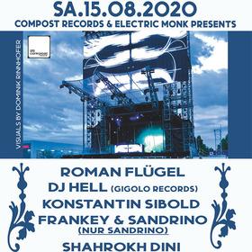 Bild: Kulturbühne Karlsruhe - Compost Records presents: Roman Flügel, Sandrino, Shahrokh Dini, Michael Reinboth