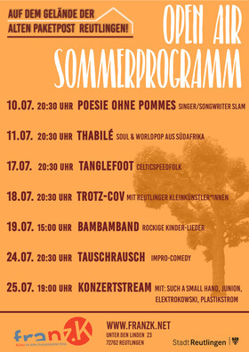 Tauschrausch // Open-Air! - Impro-Comedy