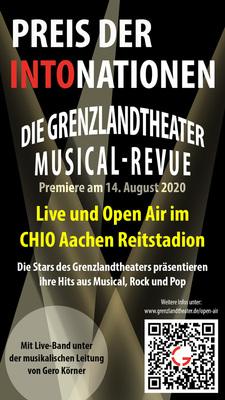 Bild: Preis der IntoNationen - Die Grenzlandtheater Musical-Revue LIVE und Open Air