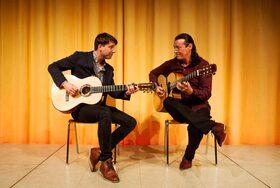 Bild: Lulo Reinhardt & Daniel Stelter - Open Air Sommerkonzert