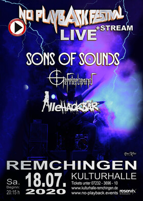 Bild: No Playback Festival - Heavy Metal Live + Stream