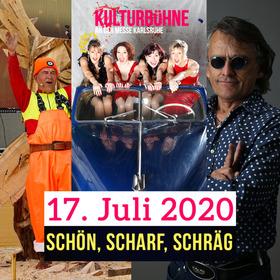 Bild: Kulturbühne Karlsruhe - schön, scharf, schräg - Gundram Proschaska, Schöne Mannheims, Jürgen Zöller & Band + Special Guest