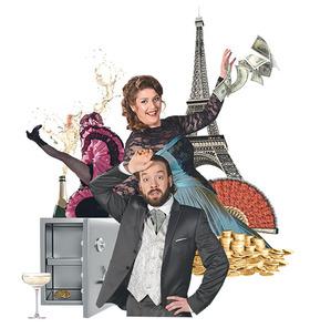 Die lustige Witwe - Operette in drei Akten von Franz Lehár