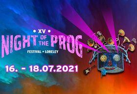 16. Night of the Prog Festival 2021 - 17.07-18.07.2021 I 2 - Dayticket I Saturday -  Sunday