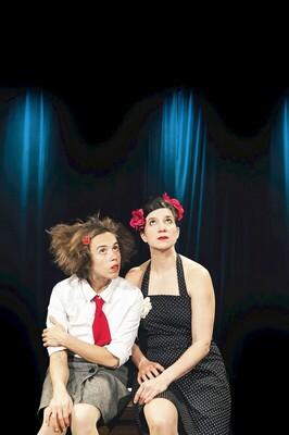 Duo Luna-Tic - HELDINNEN! Olli & Claire spielen Antigone. Fast. - KölnPremiere