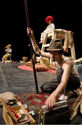 Bild: Sultan und Kotzbrocken - KiTZ Theaterkumpanei/ Taatr Mani